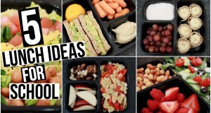 5 Quick and Healthy Back to School Lunch Ideas