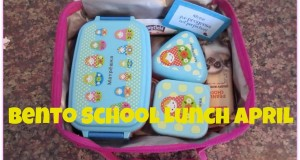 Bento School Lunches!APRIL