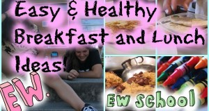 Healthy Back To School Lunches + Breakfast Ideas!