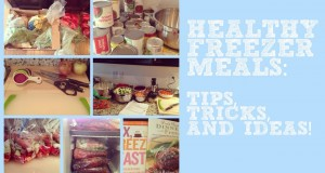 ❀ Healthy Freezer Cooking: Tips, Tricks & Ideas! ❀
