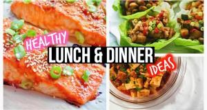 Healthy Lunch Ideas & Dinner For School