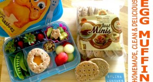 Healthy Lunch Ideas – Pita Egg Muffins