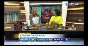 Healthy Mocktail Recipes on CTV Morning Winnipeg