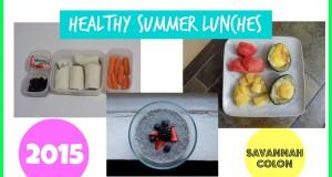 Healthy Summer Lunches 2015 | Savannah Colon