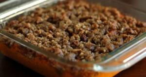 HERBALIFE DINNERS (beef and sweet potatoe casserole)