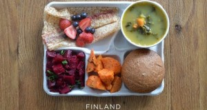 How Do School Lunches Around The World Look ? Food
