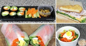 How to | 3 Back to School Quick & Easy Healthy Lunch Ideas