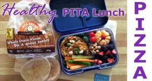 Lunch Ideas – Pita Pizzas