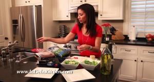 Make Amazing Strawberry Arugula Salad and Amy's Frozen Dinners- Deb's Kitchen Episode 2
