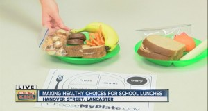 Making healthy choices for school lunches