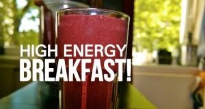Simple Healthy SUPERFOOD Breakfast Smoothie Recipe!